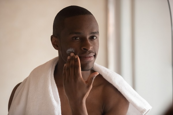 Mens skincare routine Natural Products